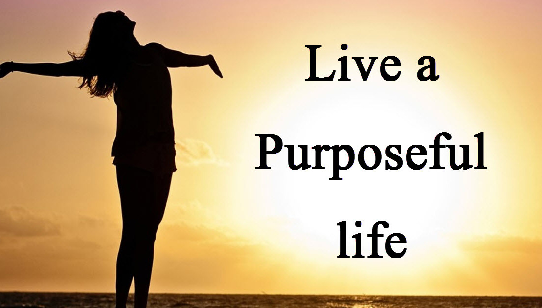 Discuss: What makes life purposeful for you?