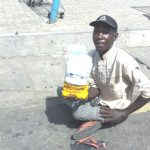 Meet the Shoprite beggar with a difference