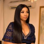 Over zealous Fan covers up Toke Makinwa promo picture