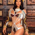 Toke Makinwa shares Bikini pictures to celebrate Birthday