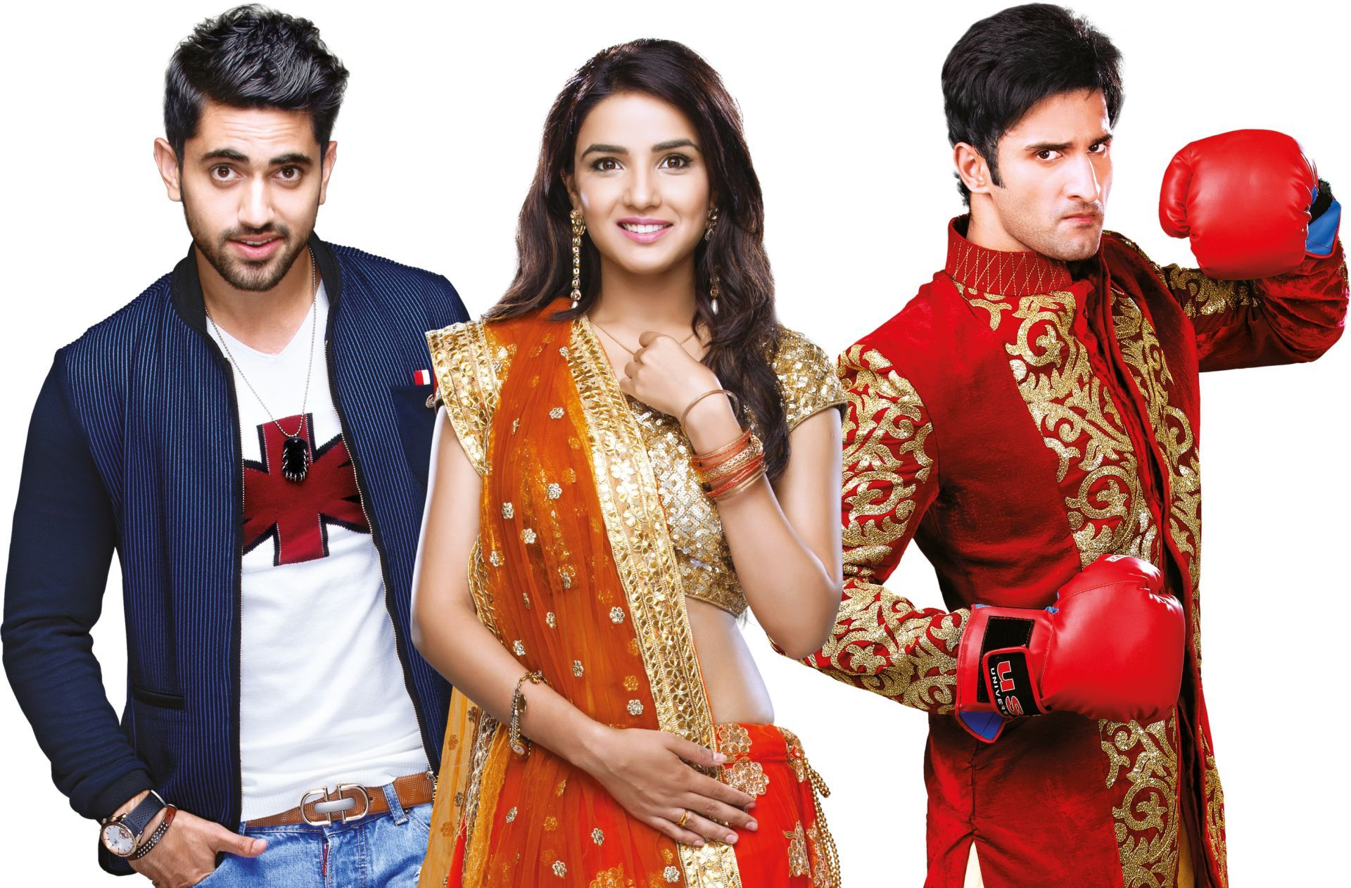Twinkle, yurav and kunj fire and ice zee world